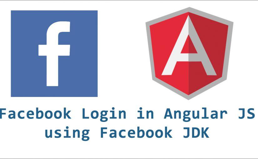 Facebook User Login using Javascript in Angular JS
